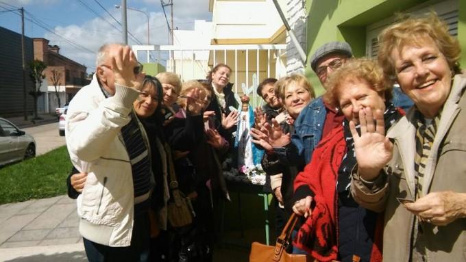 Los adultos mayores disfrutaron de un paseo turístico en Luján