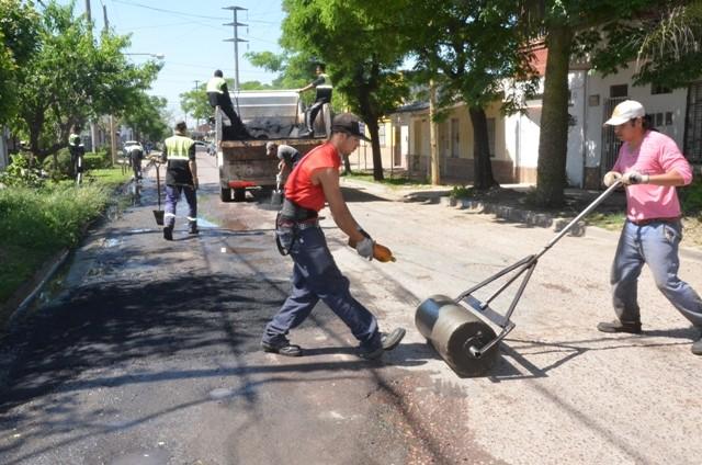 El Municipio trabajó en las calles de barrio Lubo para mejorar la transitabilidad