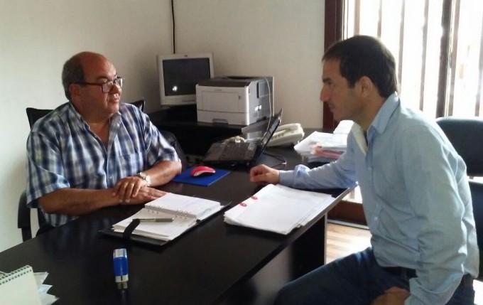 El Intendente recorrió la Delegación Regional del Ministerio de Trabajo