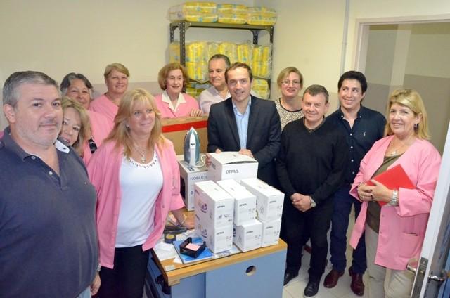 El Hospital Municipal recibió una donación de Newsan