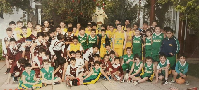 Encuentro de Mini Basquet en el CLUB CIUDAD