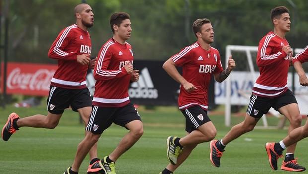 Los convocados de River Plate para el amistoso ante Olimpia