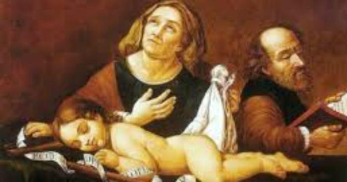 La iglesia recuerda hoy a santa Isabel y san Zacarias