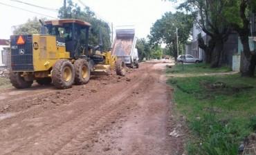 Avanzan las tareas de mantenimiento en Las Acacias
