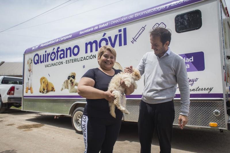 Quirófano móvil: la semana próxima realizará castraciones en el barrio 9 de Julio
