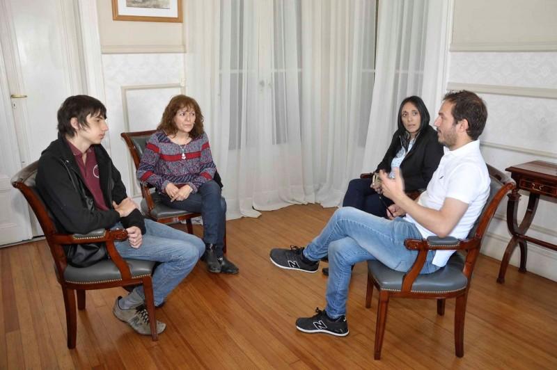 Abella recibió al alumno que participará de la 34° Olimpiada Matemática Argentina