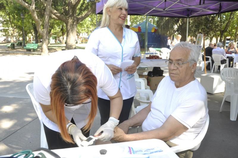 Actividades de promoción y prevención por el Día Mundial de la Diabetes