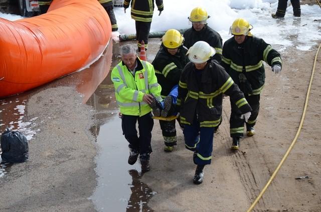Se realizará este sábado un nuevo simulacro de emergencia