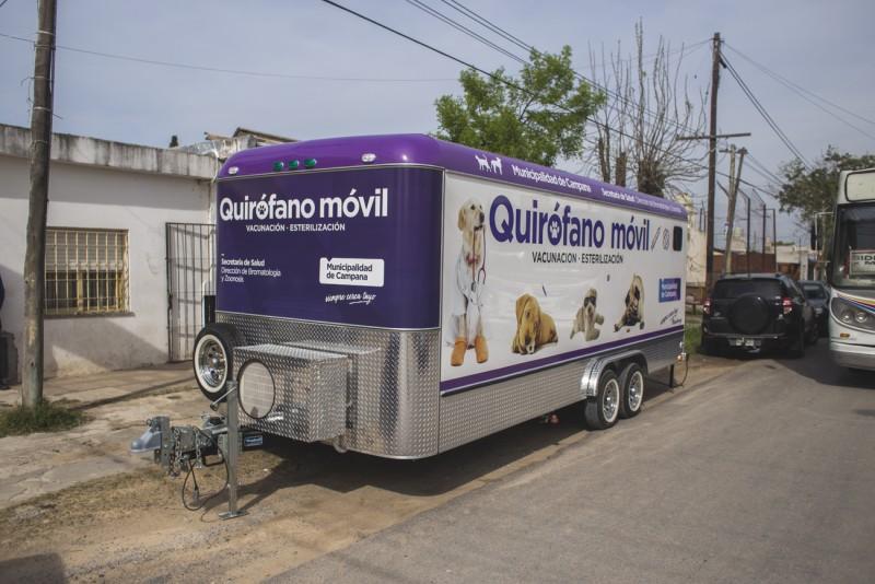 Castraciones: el quirófano móvil estará la próxima semana en el barrio Siderca