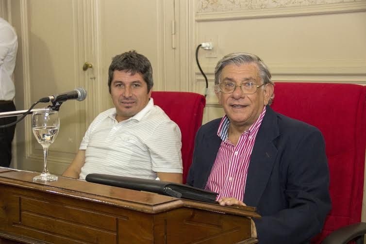 Carlos Gòmez realizò su descargo por el voto negativo en la Sesiòn del H.C.D