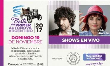 Campana se prepara para vivir una nueva Fiesta del Primer Automóvil Argentino