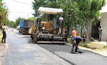 Finalizan las obras de asfalto en el barrio Dallera
