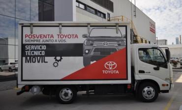 Toyota expande su servicio técnico móvil