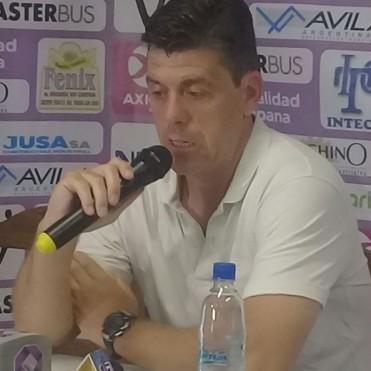 Felipe De La Riva: enfrentamos a un buen equipo y jugamos un primer tiempo aceptable