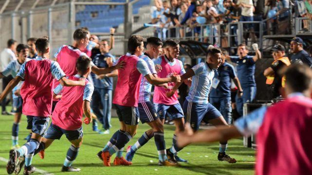 Argentina remontó a Brasil y salió campeón del Sudamericano Sub-15