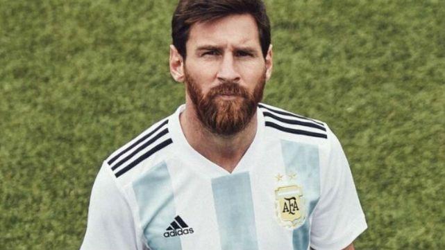 La camiseta que la Selección Argentina usará en el Mundial