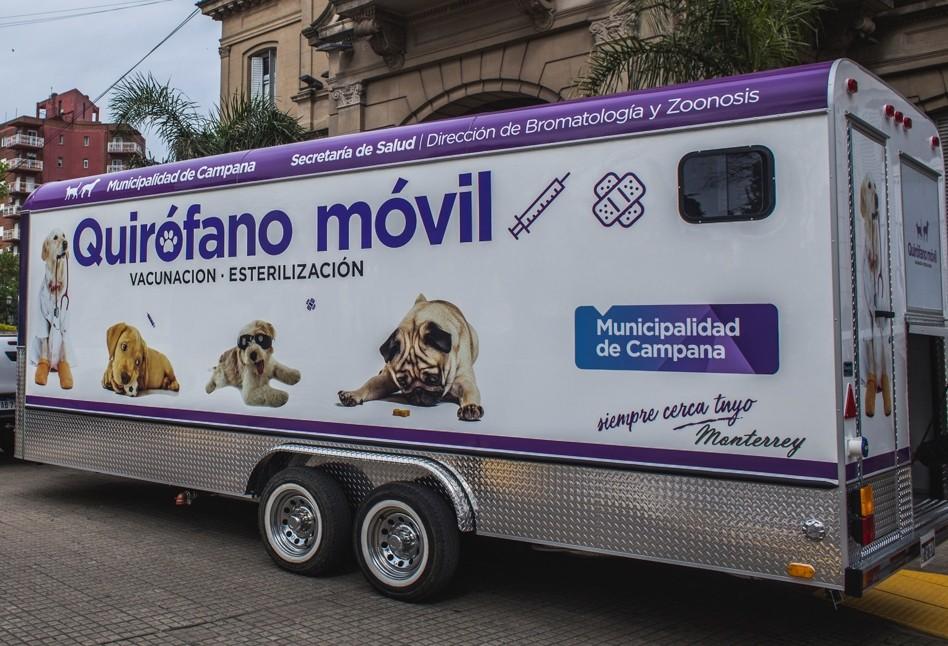 El quirófano móvil visitará Las Campanas
