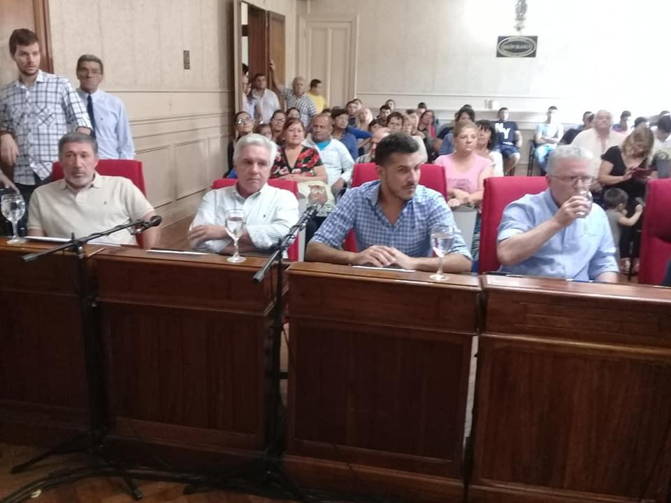 Se realizó la sesión especial del Honorable Concejo Deliberante