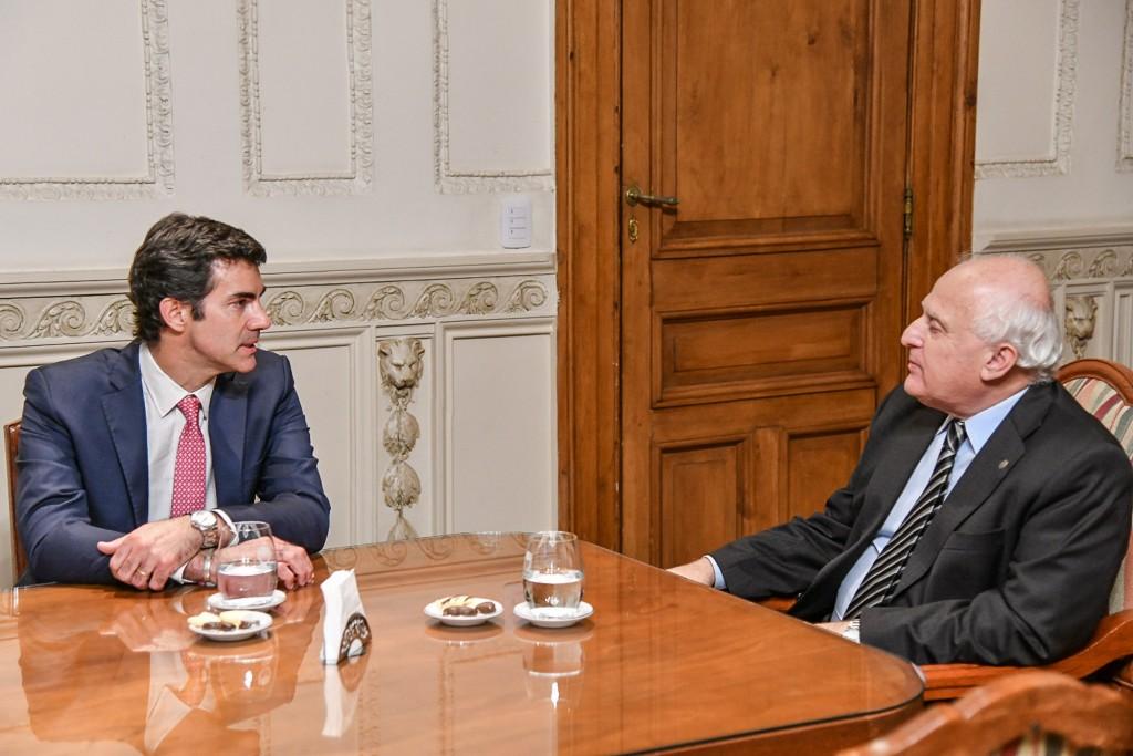 Urtubey se reunió con Lifschitz en Rosario
