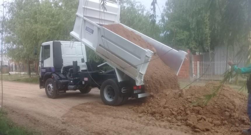 Los nuevos camiones con batea ya trabajan en los barrios de la ciudad