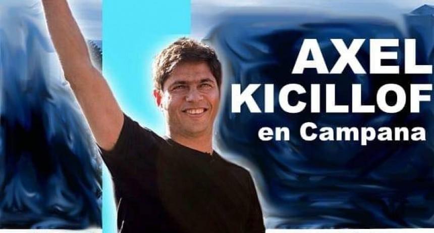 Axel Kicillof en Campana el próximo viernes 9 a las 18.30 horas
