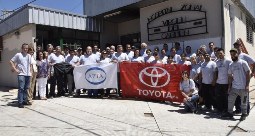 Toyota junto a sus proveedores y SMATA donaron equipamiento médico al Hospital Zonal de Zárate