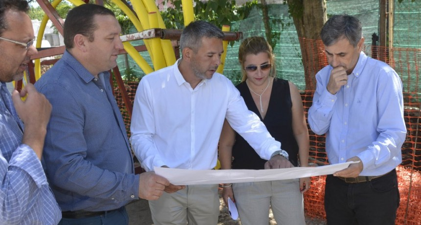 Comenzó la segunda etapa del tendido de gas natural en La Josefa