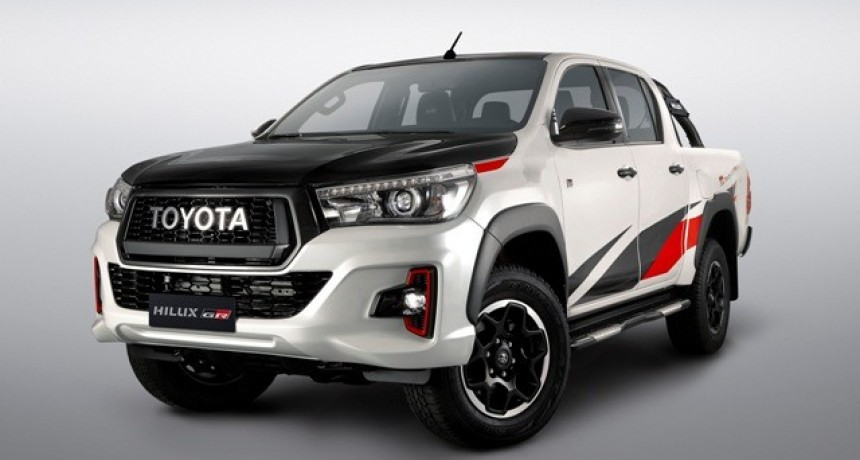 Toyota Argentina presenta su primer producto GAZOO Racing: Hilux GR Sport