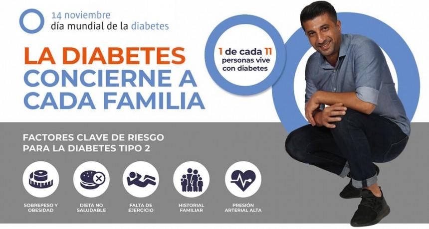 Día Mundial de la Diabetes: Campana se suma con una jornada de concientización