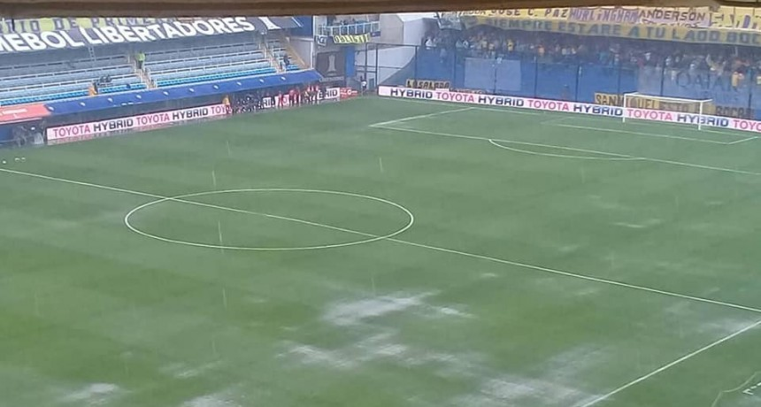 Se postergó el partido de la final de ida entre Boca Juniors y River Plate