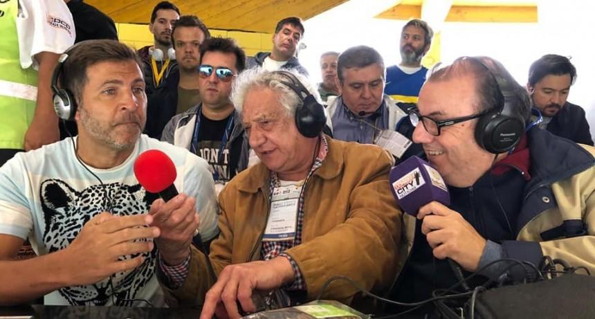 """Juan Carlos """"Toti"""" Pasman en la previa de Boca Juniors vs River Plate"""