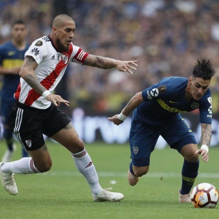 Boca Juniors y River Plate empataron 2 a 2 en un partido emocionante