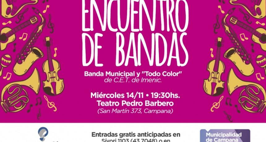 Un interesante encuentro de bandas llega este miércoles al Teatro Pedro Barbero