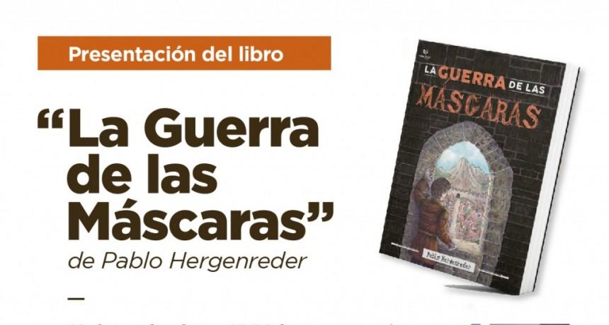 El joven escritor Pablo Hergenreder presenta su libro de ficción y fantasía