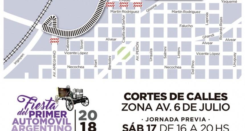 Fiesta del Automóvil: habrá cortes de tránsito y cambios en el recorrido de colectivos