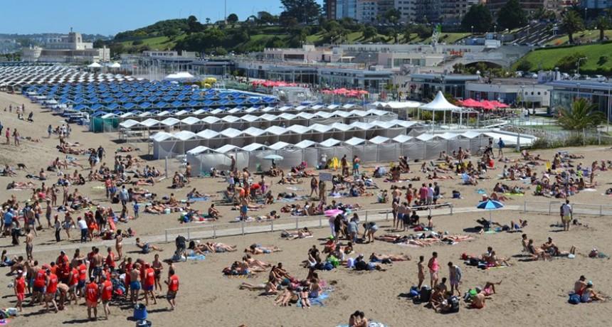 De cara al verano Fin de semana largo: Mar del Plata recibió casi 100.000 turistas