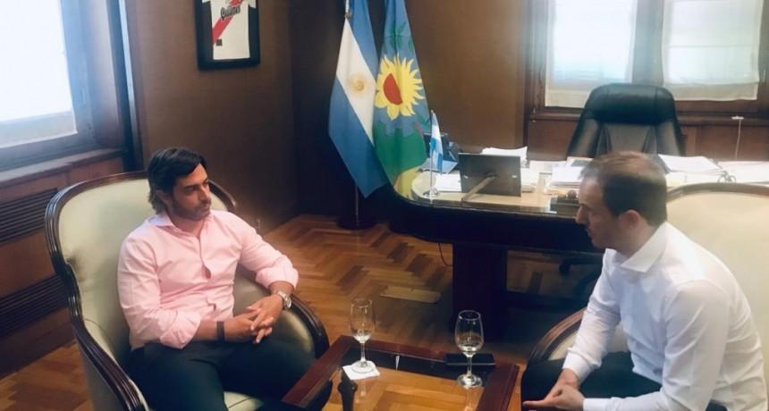 Abella se reunió con el jefe de Gabinete de Vidal