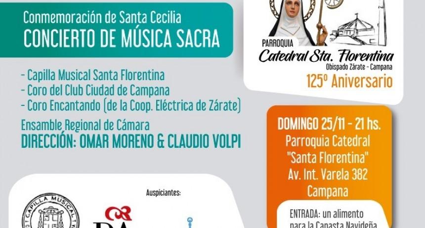 CONCIERTO DE MÚSICA SACRA EN LA CATEDRAL