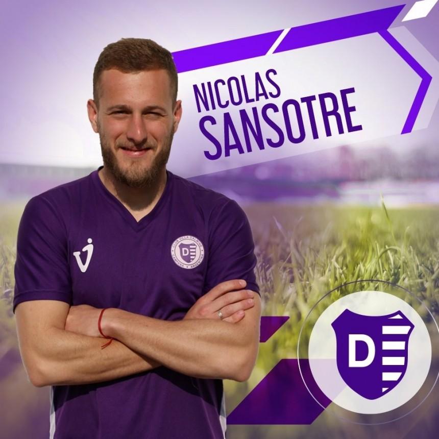 Nicolàs Sansotre: con el gol me saque la espina del partido frente a Ferro
