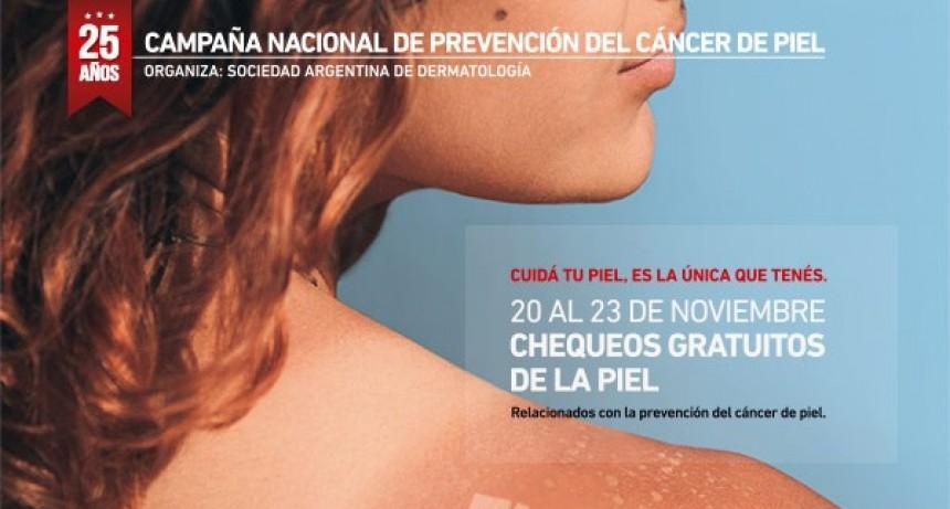 Campana se suma a la Campaña de Prevención del Cáncer de Piel