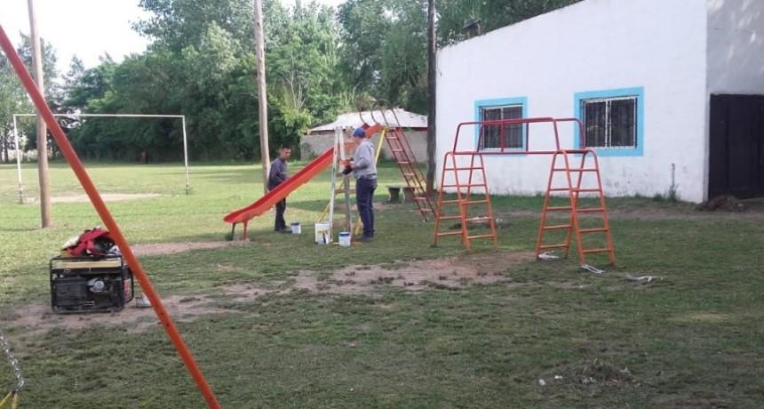 El Municipio refaccionó la plaza del barrio Albizola