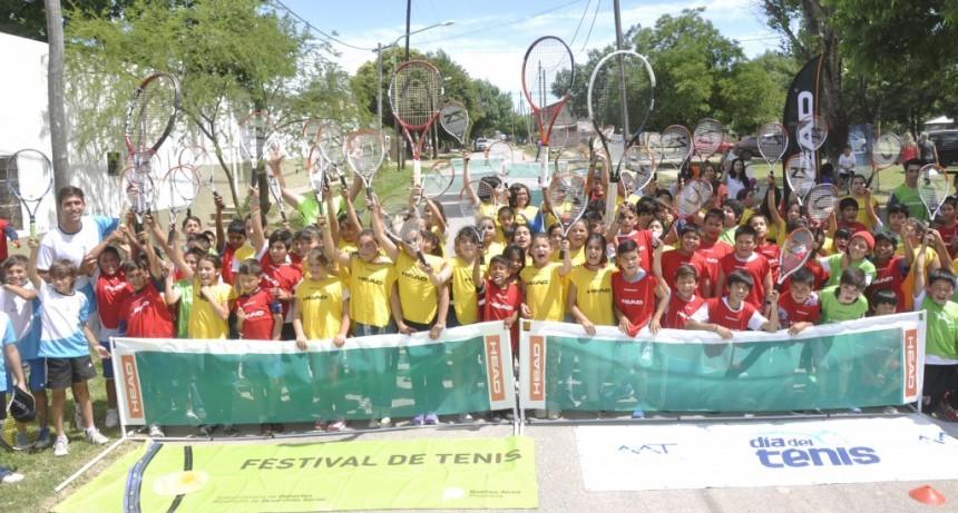 Chicos de escuelas primarias participarán de una Clínica de Tenis en Otamendi