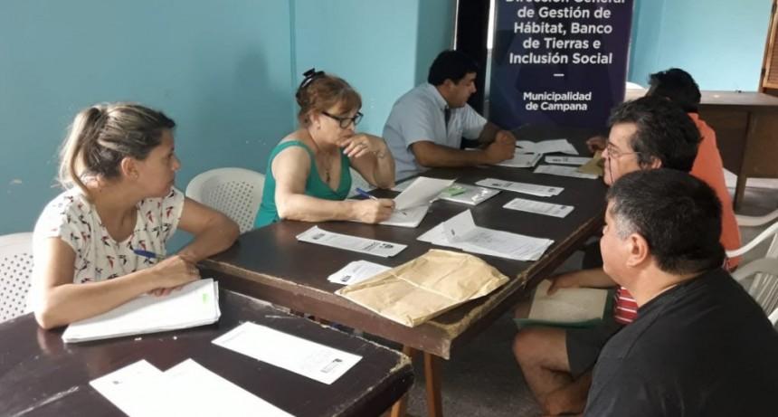 La Dirección de Hábitat estuvo en Albizola y asesoró a vecinos