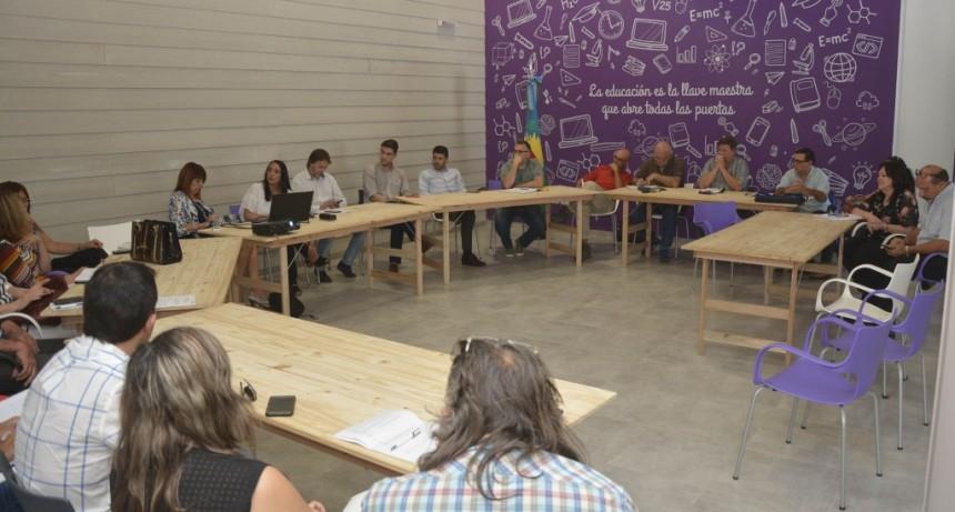 Se realizó la Mesa Distrital del Consejo Provincial de Educación y Trabajo