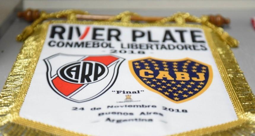 Se postergó la final de vuelta entre River Plate y Boca Juniors para mañana domingo