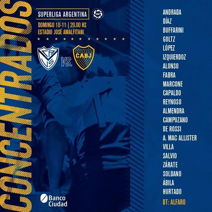 Boca Juniors visita a Vélez Sarsfield por Superliga
