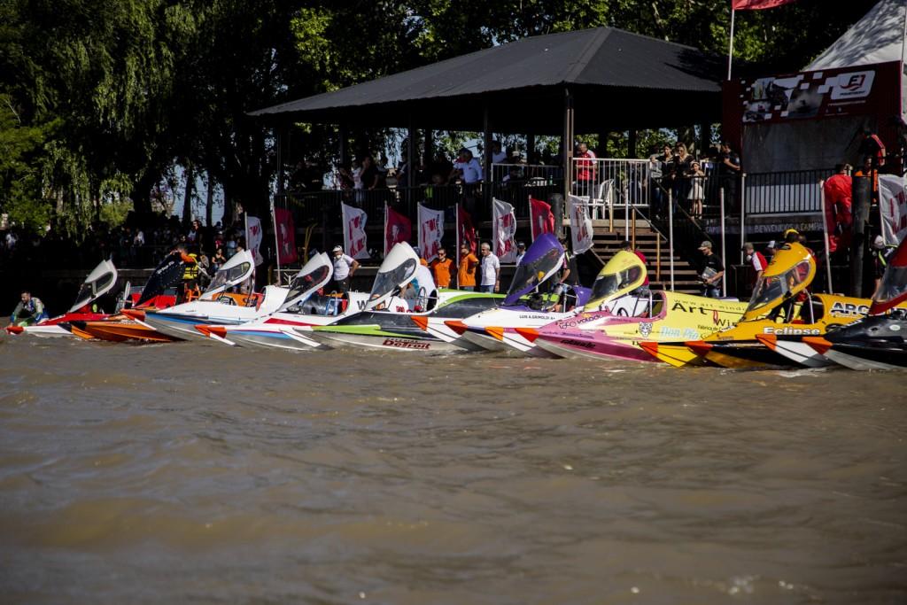 Ante 15.000 vecinos, se disputó por primera vez en Campana la F1 Powerboat