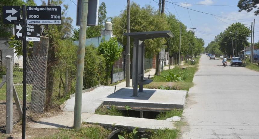 Barrio San Cayetano: colocan carteles nomencladores de calles