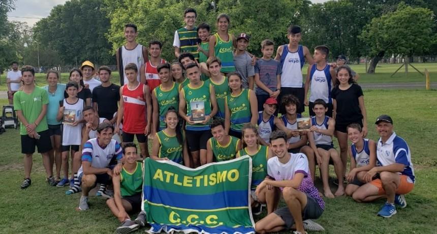 El equipo del Club ganó la Copa Nacional de Clubes de pruebas combinadas