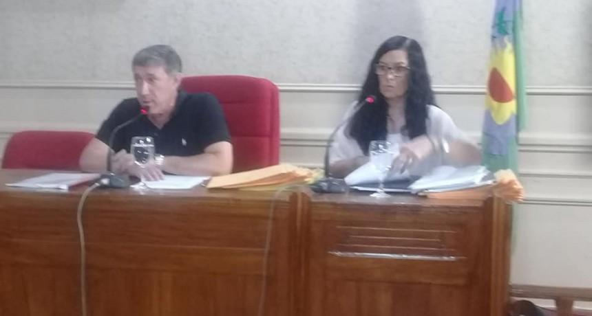 Se realizó la última sesión ordinaria del Honorable Concejo Deliberante